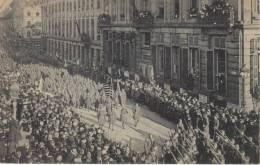 BRUXELLES   Le 22 Novembre 1918     Entrée Du Roi Et Des Troupes Alliées - Guerre 1914-18
