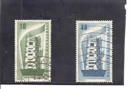 Alemania-Germany Nº Yvert 117-18 (usado) (o) - [7] República Federal