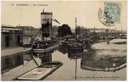 Cambrai      Port  Cantimpré - Cambrai