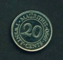 MAURITIUS  -  1990  20 Cents  Circulated As Scan - Mauritius