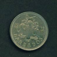 BARBADOS  -  1973  10 Cents  Circulated As Scan - Barbades