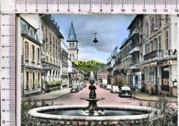 SAINT DIE -  Rue De La Gare - Véhicules Anciens - Saint Die