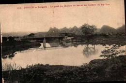 812 Tonkin - Langson - Le Pont Du Chemin De Fer Et Les Rochers De Ky-Lua - Vietnam