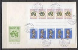 Monaco 1976 Europa CEPT - Sheetlet Of 5 Sets FDC - Europa-CEPT