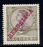 130100327   AZORES C.P.  YVERT  Nº  135  *  MH - Azores