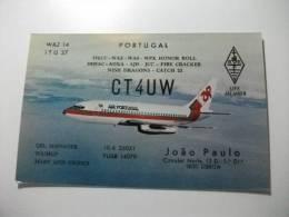 Carta Qls Aereo Air Portugal Boeing 737 - 1946-....: Moderne