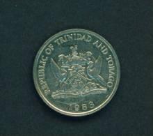 TRINIDAD AND TOBAGO  -  1983  25 Cents  Circulated As Scan - Trinidad & Tobago