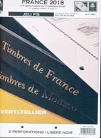 Jeu France Yvert Et Tellier FS 2018 - 1ère Partie - Vordruckblätter