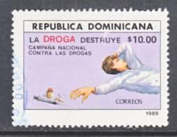 Dominican Republic 1059  (o)  ANTI-DRUG - Dominican Republic