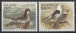 ISLANDE 1989 - Oiseaux D´Islande - 2v Neuf ** (MNH) - 1944-... Republique