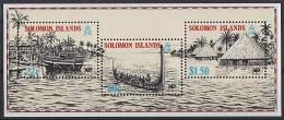 SOLOMON ISLANDS // 1988  Expo 88 // BF NEUFS ***  (MNH) - Salomoninseln (Salomonen 1978-...)