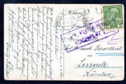 Mi. Nr. 142 A. Attrakt. AK V. SCHWARZENBACH M. Zensur - 1850-1918 Imperium