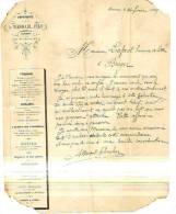 Namur - 1869 - A. Wesmael Fils - Imprimerie - Imprimerie & Papeterie