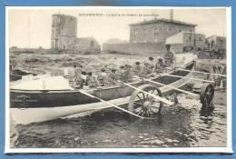 29 - DOUARNENEZ -- La Sortie Du Bateau De Sauvetage - Douarnenez