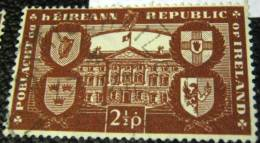 Ireland 1949 Leinster House And Arms Of Provinces 2.5p - Used - Islande