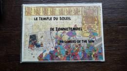 Rare puzzle publiciitaire Tintin et le temple du soleil
