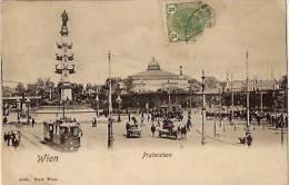 Wien-vienne-prater Stern-tramway-attelages--cpa - Ohne Zuordnung