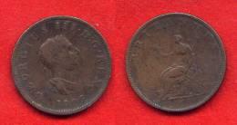 GRANDE BRETAGNE - GREAT BRITAIN - GEORGE III -1/2 -  HALF PENNY 1806 - 1662-1816 : Anciennes Frappes Fin XVII° - Début XIX° S.