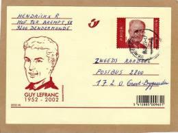 Carte Entier Postal Stationary Ganzsache Card Postcard Bande Dessinée BD Guy Lefranc - Bandes Dessinées