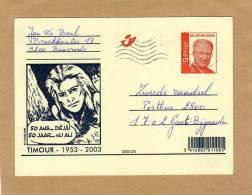 Carte Entier Postal Stationary Ganzsache Card Postcard Bande Dessinée BD Timour - Bandes Dessinées
