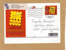 Carte Entier Postal Stationary Ganzsache Card Postcard 128 Belgica 06 Diksmuide Groot-Bijgaarden - Cartes Illustrées