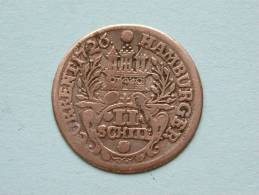 1726 IHL - II SCHILLING - HAMBURG / KM 357 ( Uncleaned Coin / For Grade, Please See Photo ) !! - [ 1] …-1871 : Etats Allemands