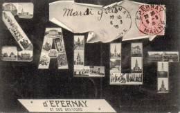 51.Epernay.Salut D´epernay Et Ses Environs - Epernay