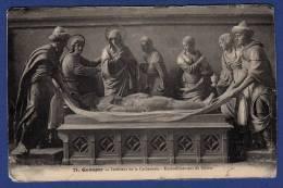 29 QUIMPER  Intérieur De La Cathédrale, Ensevelissement Du Christ - Quimper