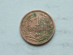 1901 - 1 CENTESIMO / KM 19 ( Uncleaned Coin / For Grade, Please See Photo ) !! - Uruguay