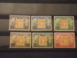 FILIPPINE - 1954 CENTENARIO 6 Valori - NUOVI(++)-TEMATICHE - Filippine