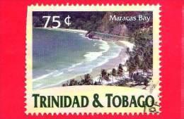 TRINIDAD & TOBAGO - USATO - 2000 - Turismo - Spiaggia - Maracas Bay - 75 - Trindad & Tobago (1962-...)