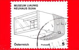 AUSTRIA - Usato - 2011 - Architettura Moderna - Museum Liaunig - 5 - 2011-... Gebraucht