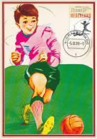 D10463 CARTE MAXIMUM CARD FD 1989 NETHERLANDS - SOCCER PLAYER CP ORIGINAL - Soccer