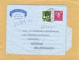 Enveloppe Brief Cover Aérogramme Entier Postal By Air Mail To Pendrecht Rotterdam The Netherlands - Nigeria (1961-...)