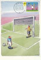 D10464 CARTE MAXIMUM CARD RR FD 1998 NETHERLANDS - SOCCER COMICS FC KNUDDE CP ORIGINAL - Soccer