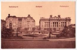 EUROPE HUNGARY BUDAPEST FREEDOM SQUARE Nr. 274 OLD POSTCARD - Hungary