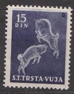 Italy Trieste Zone B STT Vujna 1950 Mi#42, Sassone#29 Key Stamp, Mint Never Hinged - Mint/hinged