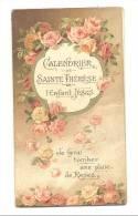 Religion - Calendrier De Sainte Thérèse De L'Enfant Jésus  1927 - Calendriers
