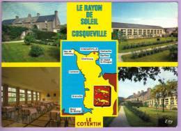 COSQUEVILLE - Hameau Rémond LE RAYON DE SOLEIL - Multivues Et Carte - Autres Communes