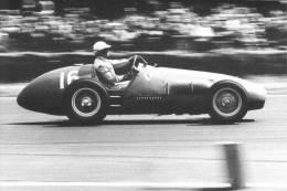 Dr Giuseppe Farina  -  Ferrari   -  Silverstone  -  1952  -  Real Photo Postcard - Non Classés