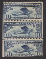 """US, Scott #C10, Mint Never Hinged, Lindbergh's """"Spirit Of St. Louis"""", Issued 1927 - Air Mail"""