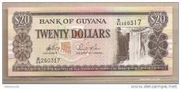 Guyana - Banconota Non Circolata Da 20 Dollari - Guyana
