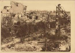 planche du service photographique arm�e belge guerre 14-18 WW1 caeskerke gare la halte vers dixmude