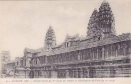 INDOCHINE VIETNAM CAMBODGE ANGKOR VAT SOUBASSEMENT DU 2e ETAGE DU TEMPLE ET DEVELOPPEMENT NORD Ed Comité Cambodgien - Cambogia
