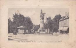 Cp , 36 , CHATEAUROUX , Le Monument Des Combattants 1870-71 - Chateauroux