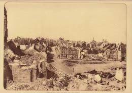 planche du service photographique arm�e belge guerre 14-18 WW1 ruine de nieuport