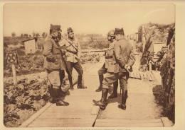 planche du service photographique arm�e belge guerre 14-18 WW1 militaire rapport des officiers pervyse