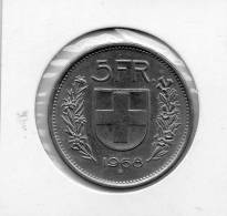 - Pièce De Monnaie 5 Fr. 1968 - 994 - Suiza