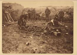 Planche Du Service Photographique Armée Belge Guerre 14-18 WW1 Militaire Arme Et Materiel Allemand Pres De Merckem - Altri