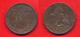 BELGIQUE - BELGIUM - LEOPOLD I - 10 CENTIMES 1848- SUPERBE MONNAIE - 1831-1865: Léopold I